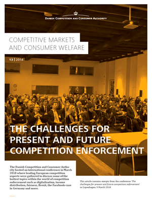 The challenges for present and future competition enforcement