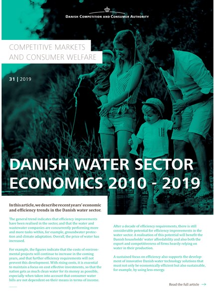 Danish Water Section Economics 2010-2019