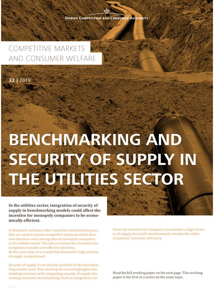 Benchmarking and Security of Supply in the Utilities Sector